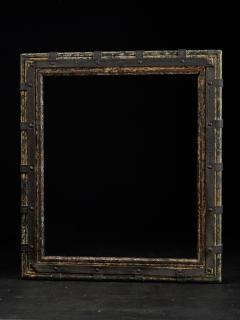 Set of two decorative wooden frames and an old mirror  - 1926945