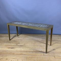 Severin Hansen 1960s Severin Hansen Jr Narrow Coffee Table for Haslev M belfabrik - 1374741