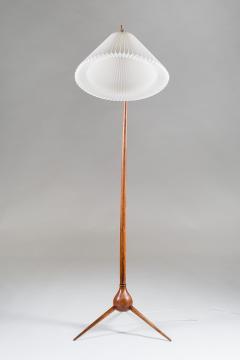 Severin Hansen Danish Mid Century Floor Lamp Bridge Lamp by Severin Hansen Jr - 900849