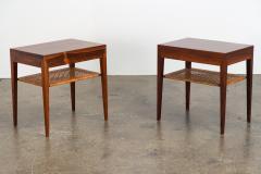 Severin Hansen Pair of Rosewood Tables by Severin Hansen - 1120895