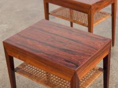 Severin Hansen Pair of Rosewood Tables by Severin Hansen - 1120901