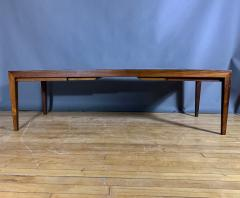 Severin Hansen Rosewood and Tile Coffee Table Denmark 1960s - 1325049