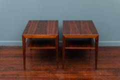 Severin Hansen Scandinavian Modern Rosewood Side Tables by Severin Hansen - 988942