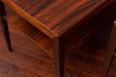 Severin Hansen Scandinavian Modern Rosewood Side Tables by Severin Hansen - 988944