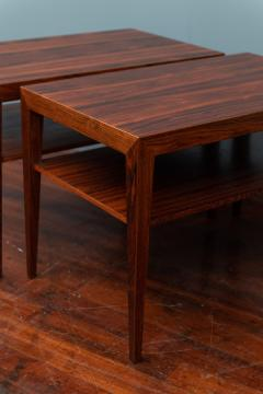 Severin Hansen Scandinavian Modern Rosewood Side Tables by Severin Hansen - 988946