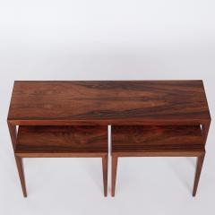 Severin Hansen Severin Hansen Nesting Rosewood Side Tables - 1506415