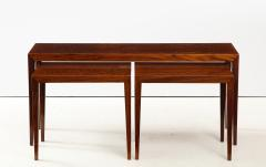 Severin Hansen Severin Hansen Rosewood Nesting Tables Circa 1960s - 1881964