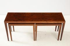 Severin Hansen Severin Hansen Rosewood Nesting Tables Circa 1960s - 1881966