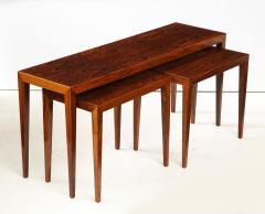 Severin Hansen Severin Hansen Rosewood Nesting Tables Circa 1960s - 1881967