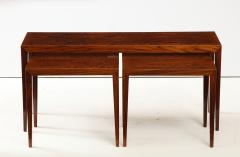 Severin Hansen Severin Hansen Rosewood Nesting Tables Circa 1960s - 1881968