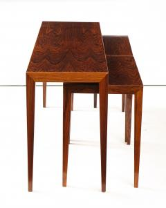 Severin Hansen Severin Hansen Rosewood Nesting Tables Circa 1960s - 1881969