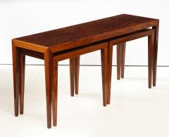 Severin Hansen Severin Hansen Rosewood Nesting Tables Circa 1960s - 1881971