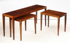 Severin Hansen Severin Hansen Rosewood Nesting Tables Circa 1960s - 1881972