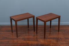 Severin Hansen Severin Hansen Rosewood Side Tables for Haslev - 1879974