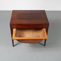 Severin Hansen Severin Hansen Sewing Table for Haslev M belsnedkeri Bovenkamp Denmark 1960 - 1141612