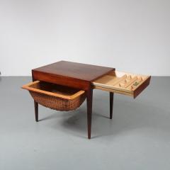 Severin Hansen Severin Hansen Sewing Table for Haslev M belsnedkeri Bovenkamp Denmark 1960 - 1141618
