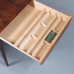 Severin Hansen Severin Hansen Sewing Table for Haslev M belsnedkeri Bovenkamp Denmark 1960 - 1141619