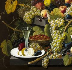 Severin Roesen Two Tiered Still Life of Fruit - 1181200