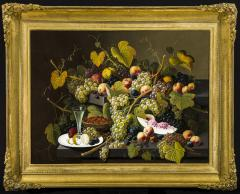 Severin Roesen Two Tiered Still Life of Fruit - 1181202