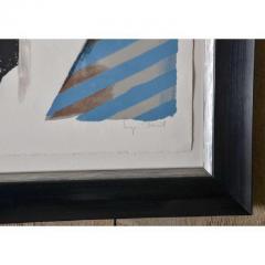 Seymour Chwast O Series By Seymour Chwast in Custom Frames - 480384