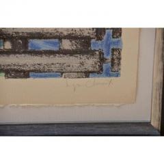 Seymour Chwast O Series By Seymour Chwast in Custom Frames - 480386