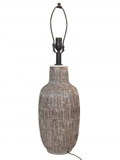 Sgraffito Table Lamp - 1852922
