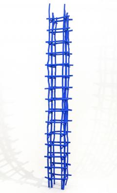 Shayne Dark Gridlock Series Blue Column - 1043197
