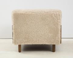 Shearling Club Chair - 2005623