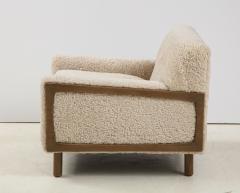 Shearling Club Chair - 2005625
