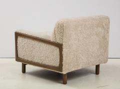 Shearling Club Chair - 2005626