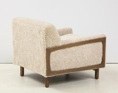 Shearling Club Chair - 2005628