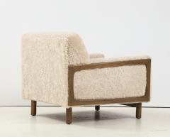 Shearling Club Chair - 2005629