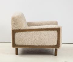Shearling Club Chair - 2005630