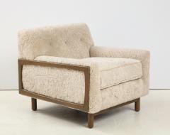 Shearling Club Chair - 2005632