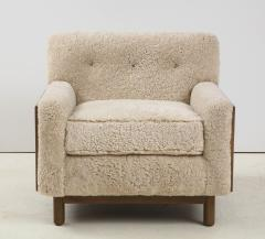 Shearling Club Chair - 2005634