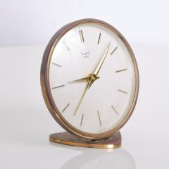 Sheffield West Germany Table Clock Mid Century Modern - 1235764