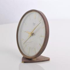 Sheffield West Germany Table Clock Mid Century Modern - 1235765