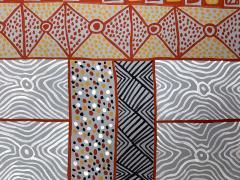 Sheila Puruntatameri An Australian Aboriginal Painting of Body Paint Design - 949397