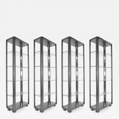 Shelf Units with Glass Shelves - 1264986
