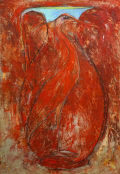 Sherri Hollaender Freedom and Entrapment Series Red Bird - 2099353