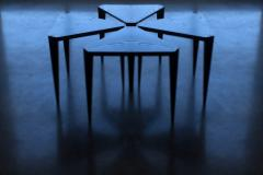 Sherwood Hamill ORIGAMI END TABLE - 947085