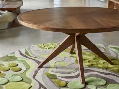 Sherwood Hamill ROUND BONFIRE DINING TABLE - 946955