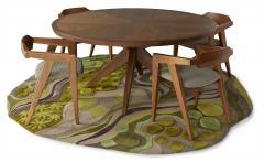 Sherwood Hamill ROUND BONFIRE DINING TABLE - 946959