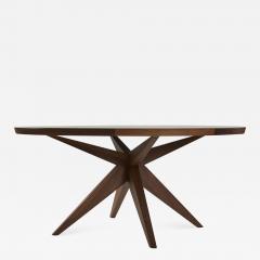 Sherwood Hamill ROUND BONFIRE DINING TABLE - 948001