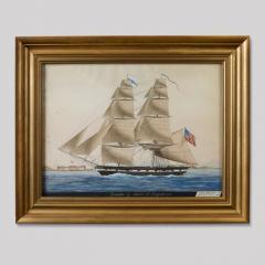 Ship Leander of Salem at Smyrna 1831 - 54899
