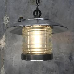 Ships Lantern Ceiling Pendant with Fresnel Glass - 1002415