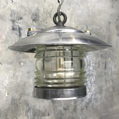 Ships Lantern Ceiling Pendant with Fresnel Glass - 1002416
