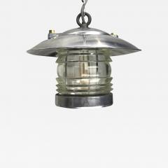 Ships Lantern Ceiling Pendant with Fresnel Glass - 1003253