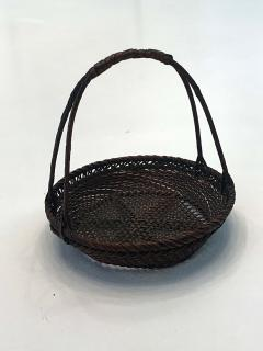 Shokosai I Hayakawa An important miniature Japanese bamboo basket by Hayakawa Shokosai I - 991506