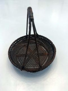 Shokosai I Hayakawa An important miniature Japanese bamboo basket by Hayakawa Shokosai I - 991507